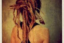 Dreadlocks <3 / Dreads, locks, beads, knots