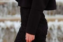 Style-Dark/B&W/Grey / Basic black, classic black and white and dark hues of clothes I admire. / by Tamay Johnson
