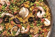 Spanish Paella Day! / It's Spanish Paella day on 27th March, so we have pulled together lots of yummy paella recipes for you to have a look at. Also make sure you try our spin on a classic, our Moroccan paella recipe:   http://www.yourhomemagazine.co.uk/article/2355/moroccan-paella
