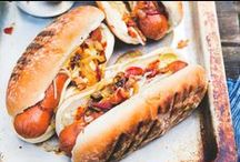 Hot dog day / It's international hot dog day! Everyone loves a hot dog or two!