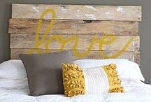 DIY headboards / Don't get rid of your old head board, just give it a face lift by upcycling it!