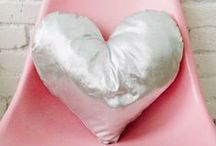 Craft a heart / Feel your home with love and these heart crafts...