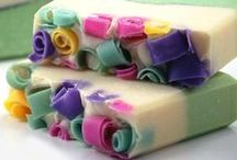 Homemade soaps / Making your own homemade soap is both a great hobby and a fab gift idea.  Here are some great soap recipes...