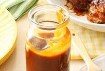 Homemade condiments / Don't go to shop and buy your condiments, make them yourself....