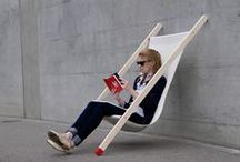 Dashing deckchairs / Relax in style with funky deckchairs....