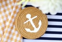 Nautical Crafts / Make your own nautical-inspired crafts....