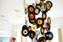 Vinyl record day / It's vinyl record day! We are all about upcycling, so here are some of our favourite ideas when it comes to upcycling your old vinyl records....