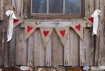 Beautiful bunting / Decorate your home with beautiful bunting!
