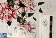 Floral Interiors / Liven up your home and keep summer alive all year round with floral interiors....