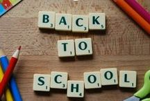 Back to school arts and crafts! / Check out all these cute 'back to school' arts and crafts! Easy-to-make and will get your little ones excited about going back to school after the summer!