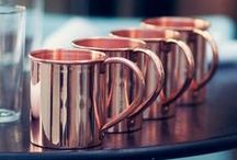 Copper! / This trend is one of our favourites and now is easy to afford too!  You can now find copper home accessories in lots of high street and online stores.....so don't delay...go get some today!
