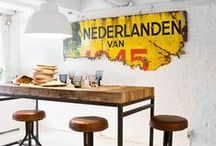 Industrial Interiors / Industrial interiors don't have to be cold and masculine. Check out these gorgeous ideas which are as homely as ever!