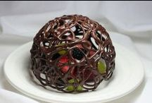 Chocolate week 13th-19th October: Chocolate Sculptures / It's chocolate week! What better way to enjoy it, by making things out of it! Check out these brilliant chocolate sculptures.....