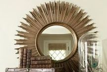 Statement mirrors / Be bold and fabulous in your home with statement mirrors!