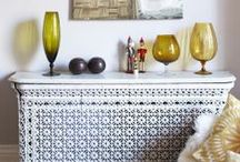 Radiator covers / Radiator covers don't have to be dull and boring, see these beautiful cover ideas.....