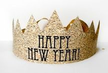 New Years eve party crafts / Celebrate New Year in style with some of these amazing crafts......