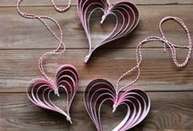 Valentines crafts / Get ahead and give your loved one something special and homemade...
