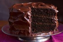 Chocolate Cake Day! / Sticky, gooey, creamy chocolate. From chocolate cream buns to a whopping great gateaux, today is the day to indulge as it's Chocolate Cake Day!