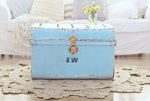 Vintage trunks and chests / Finish your room off with a trunk or chest that can add a vintage element to your decor.