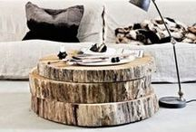 Coffee tables / Your coffee table is usually the center-point of your living room, so make a statement with it!