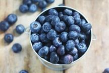 Blueberry recipes / Blueberries are a good source of vitamin K. They also contain vitamin C, fibre, manganese and other antioxidants! See some fab recipes here.....