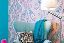 Wonderful walls / Adorn your walls with beautiful wallpaper....