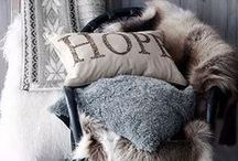 Cosy cushions / Snuggle up this autumn and winter with some cosy cushions