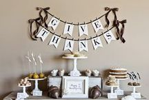 Giving Thanks / Whether you're celebrating your first Thanksgiving in your StuartCo home, or you're an old pro, we've compiled a board of fun ideas to make the holiday special!