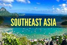 Southeast Asia Travel / Traveling to Southeast Asia? This board features outdoor adventure, travel guides, wanderlust inspiration, solo travel and more for backpacking and budget friendly travel in Southeast Asia. Travel to Thailand, Philippines, Cambodia, Vietnam, Borneo...