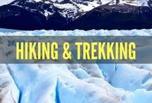 Hiking & Trekking / Enjoy hiking and trekking? This board features outdoor adventure, travel guides, wanderlust inspiration, solo travel and more for backpacking and budget friendly hikes and treks around the world. Travel to Patagonia, Machu Picchu, Torres Del Paine, Chile, Fitz Roy, El Chalten, El Mirador and more...