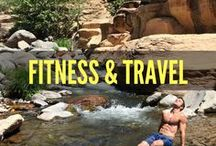 Fitness & Travel / The 6-backPACKer travels around the world bringing a 6-pack to get the party started! Why? Because exploring the world is more fun shirtless...
