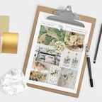 Inspiration Boards by Pocketful of Dreams / All the inspiration / mood boards created by Pocketful of Dreams events