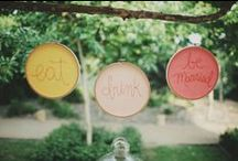Handcrafted vintage wedding / Lots of DIY and craft ideas for your vintage wedding. Make it personal!