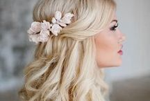 Bridal Hair Styles / Hair styles, tips and tricks for the modern bride. Half up, updos, long and veil styles.