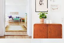 House: Love / inexpensive ideas, bright colors, always light. someday.