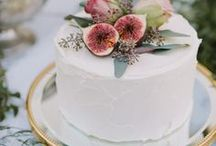 Wedding Cake and Sweet treats