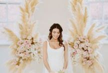 Wedding Ceremony | Wedding Ceremony Decor | Ideas for a unique ceremony / It's the most special part of your big day, full of emotion and beauty. See our ideas for adding a personal touch to your ceremony decor, with ceremony backdrops, aisle decor, chair decor, ceremony seating layouts and more.