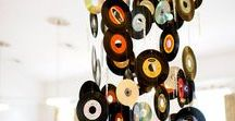 Retro Wedding with Vinyl / ...so many ideas what you can do with old records at your wedding. Make it a good old rock 'n' roll wedding!