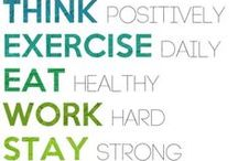 health & exercise / by courtney cook