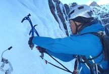 """Ice Climbing  / La escalada en hielo es lo que """"me pierde"""" en invierno. No se que le veo, pasas frio, te duelen las manos, te la juegas a veces..."""