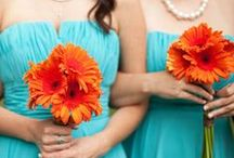 Bold wedding colour