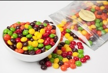 Follow the Tasty Rainbow! / Whether you're looking to color coordinate favors or for a snack in your favorite color, you'll find the perfect snack for you in our selection of shop by color treats!  http://www.superiornutstore.com/shop-by-colors.html