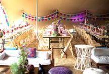 Festival Wedding Inspiration and Ideas / Inspiration for a free-spirited and fun, festival wedding.