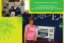 Quarterly Referral Contest Winners! / We have a quarterly referral contest.  Refer your family, friends or acquaintances to get a quote from us, make sure they tell us your name and you'll be entered into our referral contest.  It's that easy.  Residents of Ontario only.  For full details check out For complete contest details check out http://www.erb-erb.com/referral-program