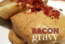 Six Degrees of Bacon / Everything goes with Bacon! / by Dona (Chicken Giggles) Parmely