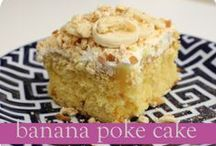 All Poked Up / Poke Cake recipes! / by Dona (Chicken Giggles) Parmely