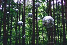 PODWED // J&R Wedding: Disco Decadence / Wedding ideas and inspiration for our stylish clients woodland wedding. With ceremony and dining outside, plus a festival style disco in the woods. From a leading Wedding Planner and Stylist. Unique, creative ideas for elegant and understated weddings.