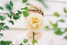 Spring Wedding Inspiration / Inspiration for a wedding at this most optimistic time of year…embracing the natural beauty of the season: a botanical garden setting, a natural and organic palette of leaf and herb tones, with a delicate smattering of yellow and soft blues to act as accents, with white acting as a grounding neutral that really plays to the purity and innocence of the overall design. From a leading Wedding Planner and Stylist. Unique, creative ideas for elegant and understated weddings.