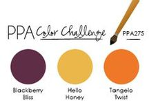 Stampin' Up Color Inspiration