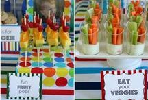 Birthdays and Parties / Fun food ideas for healthy birthdays for kids.  / by Super Healthy Kids